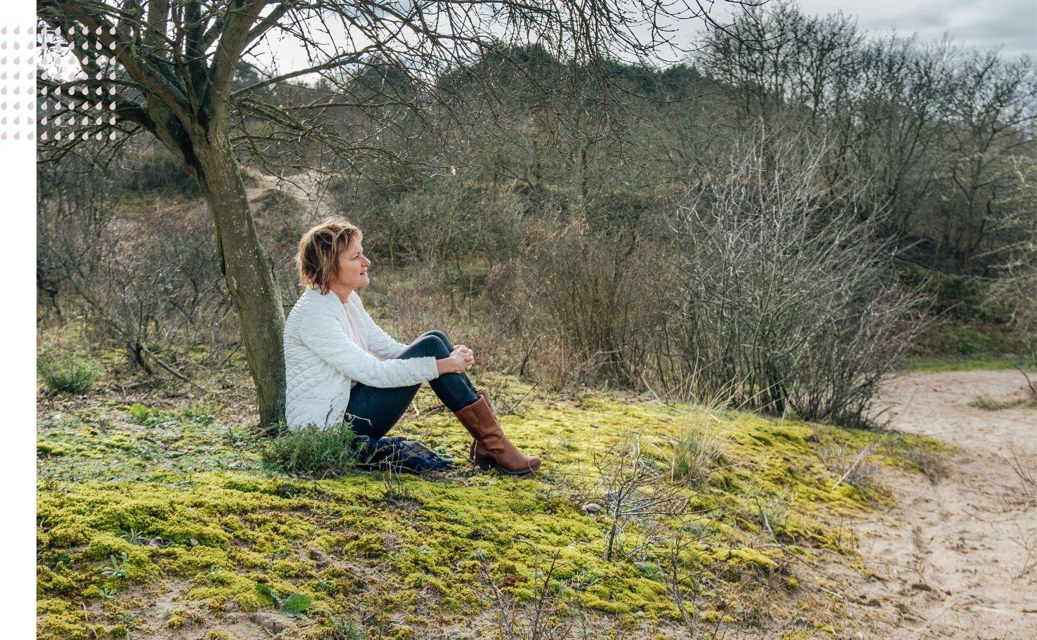 Vanuit de stilte - Ontdek onthaast en herstel - Conny Rijlaarsdam - Mijn verhaal de stilte en ik - Het ontstaan van vanuit de stilte